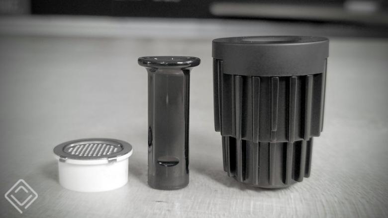 Heat Sink & Crucible